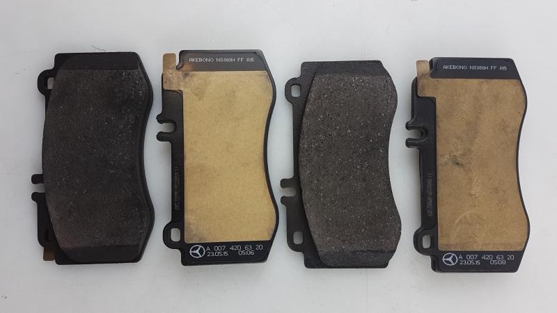 C207  vorne Shooting Brake X218 Bremsbeläge Bremsklötze MERCEDES CLS C218