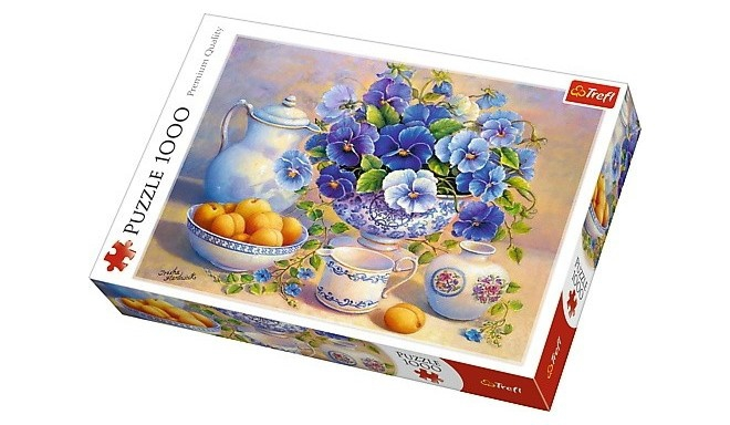 Trefl - Puzzle 1000 The Blue Bouquet