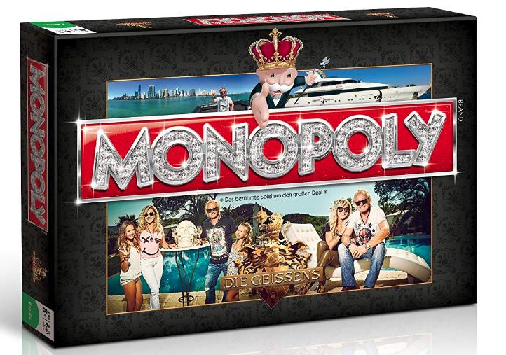 Winning Moves - Monopoly Die Geissens (German..