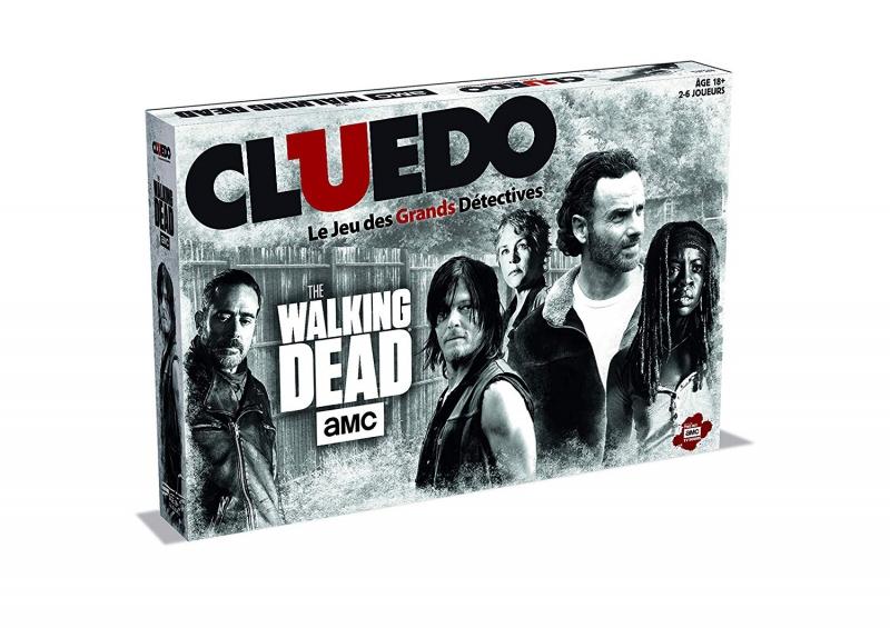 Winning Moves - Cluedo The Walking Dead (Fren..
