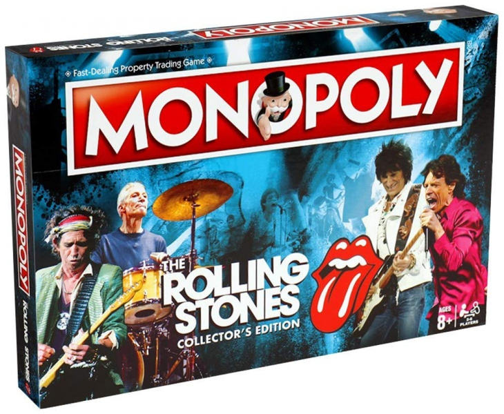 Winning Moves - Monopoly The Rolling Stones