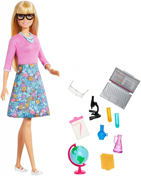 Mattel - You Can Be Anything Barbie Teacher With ..