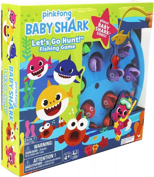 Spin Master - Baby Shark Fishing Game
