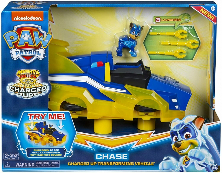 Spin Master - Paw Patrol Charged Up Chase