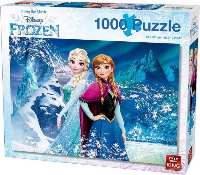 King - Puzzle 1000 Frozen