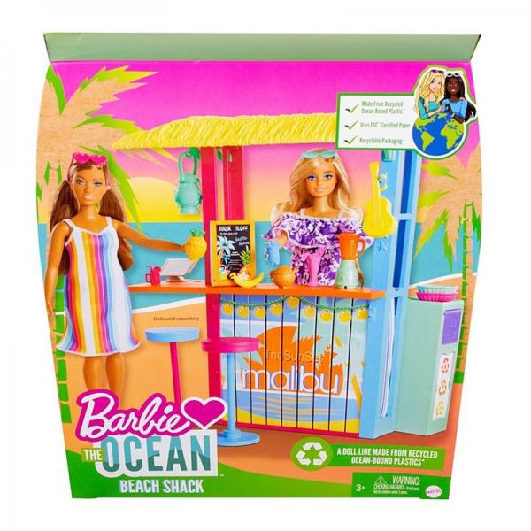 Mattel - Barbie Loves The Ocean Beach Shack Set