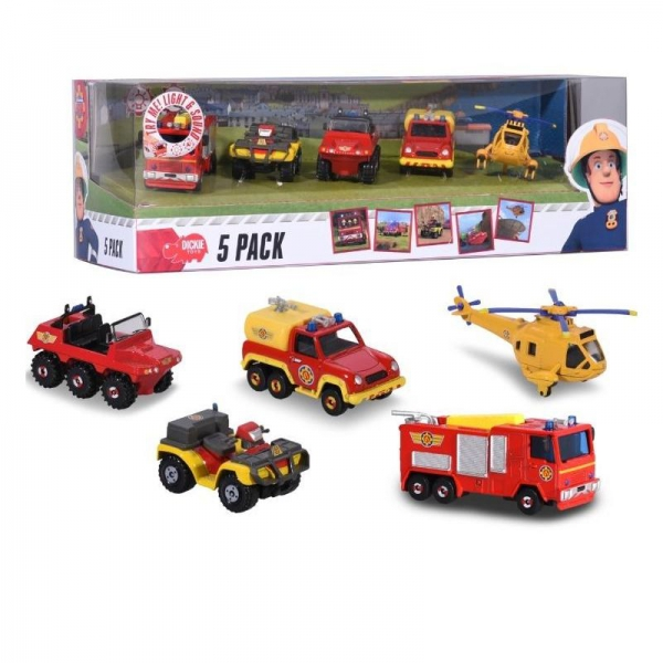 Dickie - Firefighter Vehicles 5 Pack
