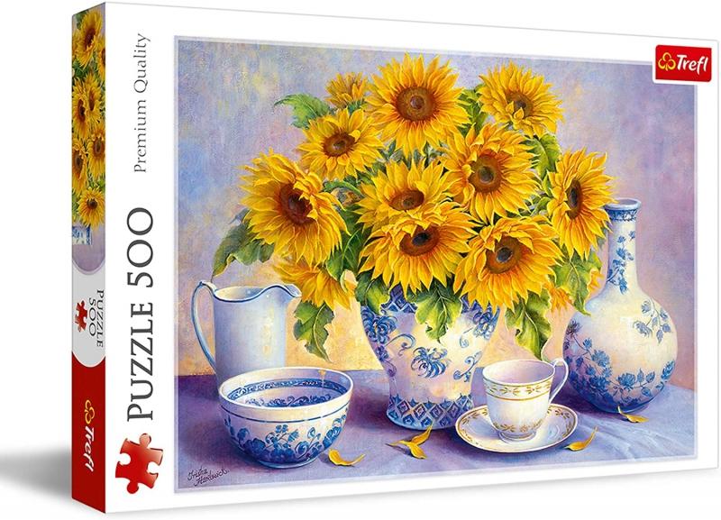 Trefl - Puzzle 500 Sunflowers
