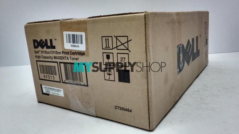 Dell 3110cn/3115cn Magenta High Capacity Toner Cartridge