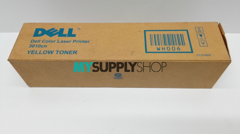Dell 3010cn Yellow Standard Capacity Toner Cartridge