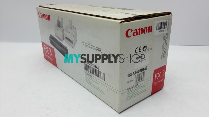 Canon FX-3 Toner Ctg Black 2.7k (Old Box)