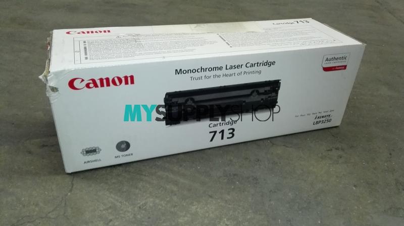 Canon CRG-713 Toner Ctg Black (New Red Side Box)