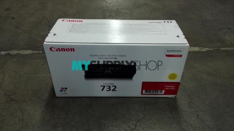 Canon 732 Toner Ctg Yellow 6.4k
